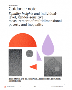Cover of the guidance note which has a white background, back text and orange, black and purple icons