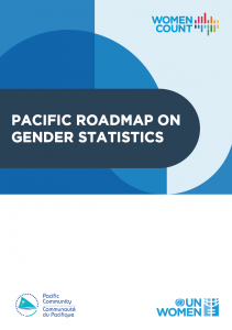Report cover of the Pacific Roadmap on Gender Statistics