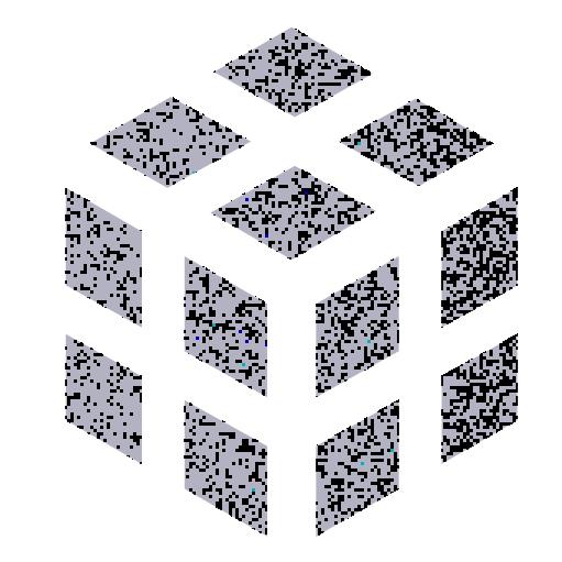Multidimensional - A grey cube